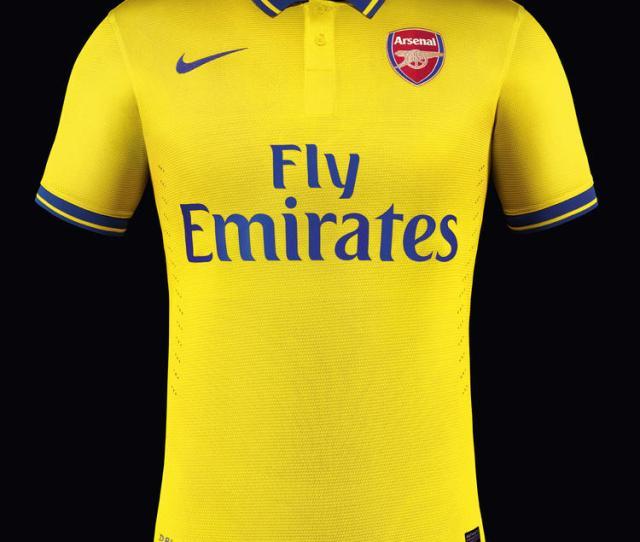 Nike Unveil New Arsenal Away Kit For Season 2013 14