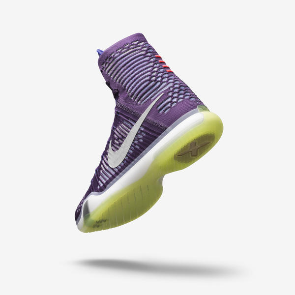 best sneakers 688f0 d67f8 The KOBE X Elite s dynamic traction, hybrid cushioning system (Lunarlon,  Nike Zoom Air and Nike Free-inspired siping combined) and modern aesthetic  result ...