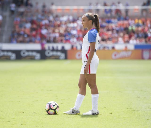 U S Soccer Star Mallory Pugh Signs With Nike 1