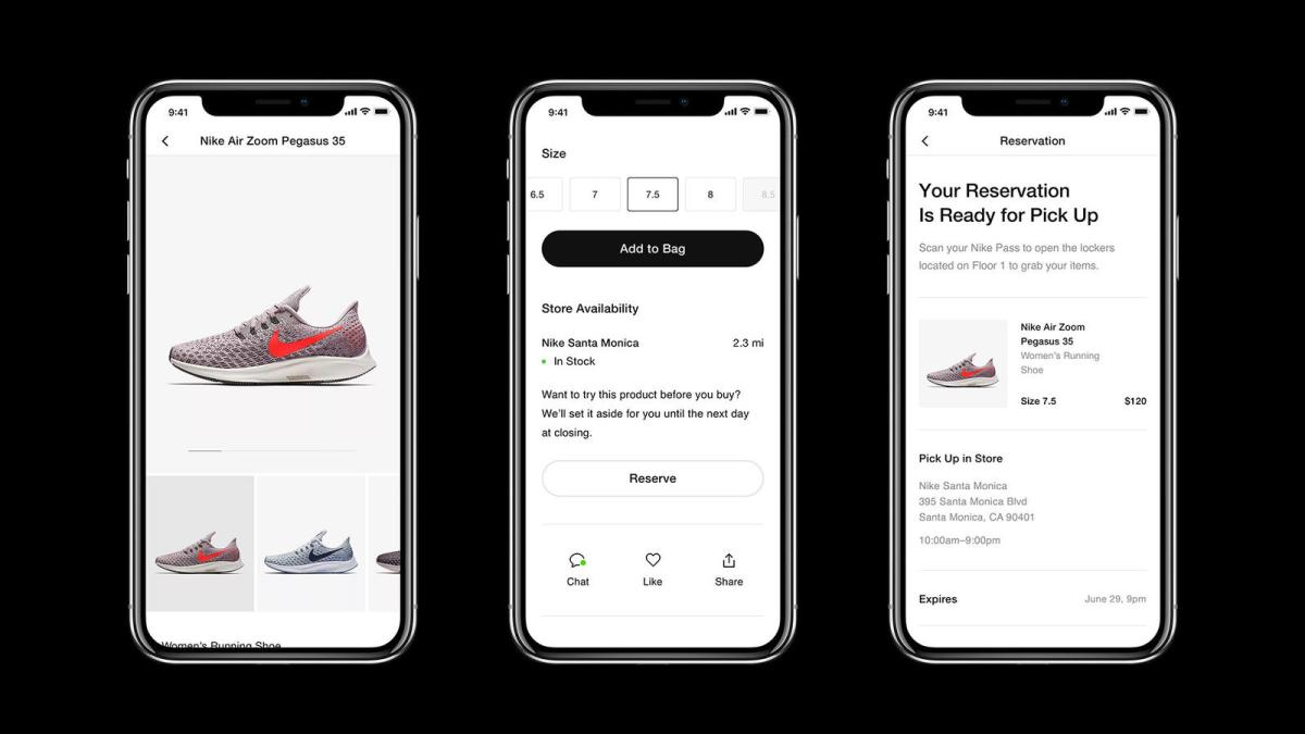 Image result for nike mobile app