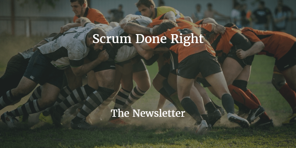 Scrum, are you screwing it up?