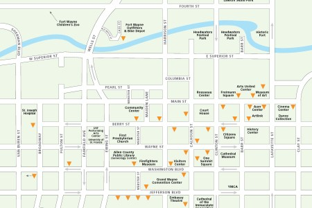 fort wayne downtown map » Another Maps [Get Maps on HD]   Full HD ...
