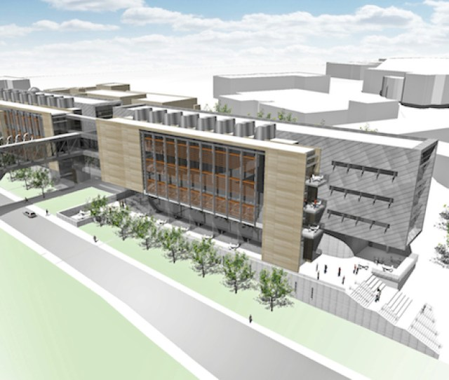 This Preliminary Conceptual Rendering Shows A New Science Facility That Would Expand Lindley Hall On The Kansas University Campus
