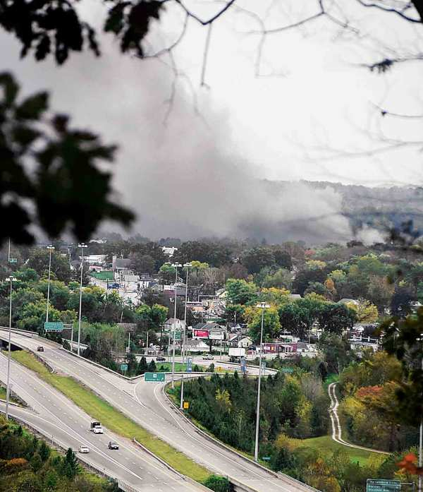 Air quality questions persist as fire burns at former Ames ...