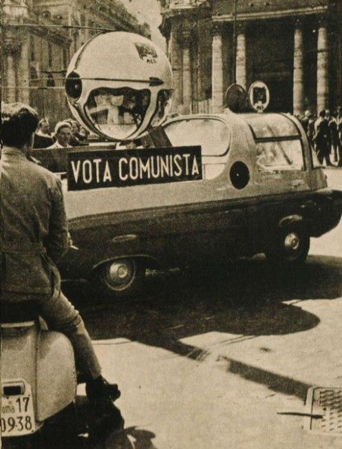 Rome 1958 - Cold War grumblings seemingly everywhere.