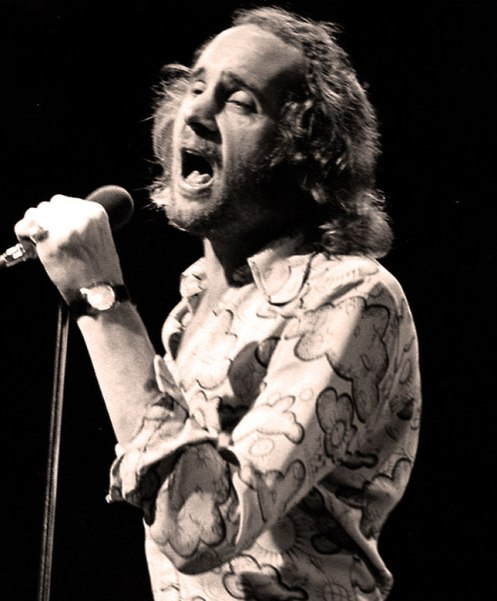 Roger Chapman  of Family - a voice that once had the distinction of winning out over Tom Jones.