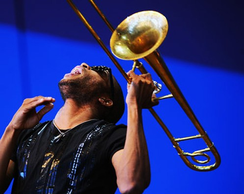 Trombone Shorty - Closing out the proceedings in high-voltage New Orleans style.