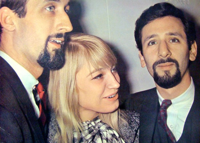 Peter, Paul and Mary - One of the groups responsible for the bridge between Folk and Mainstream in the early 60s.