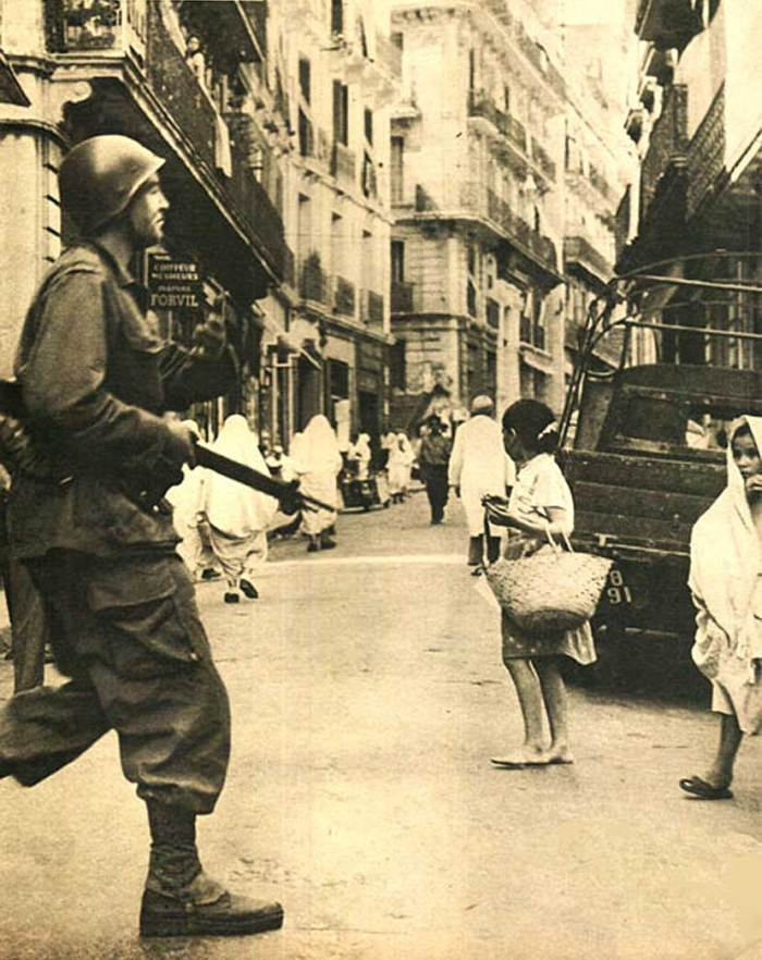 This would become a familiar sight around Tunisia and Algeria in 1958.