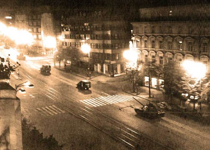 Many woke up to the sound of tanks rumbling through Prague.