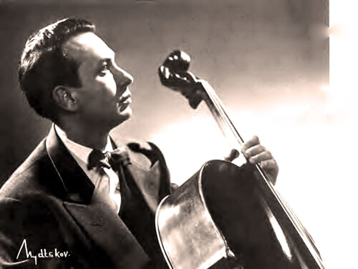 Maurice Gendron - one of the Great French cellists of the 20th century.