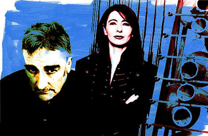 Evelyn Glennie and Fred Frith - an unlikely combination became perfect.