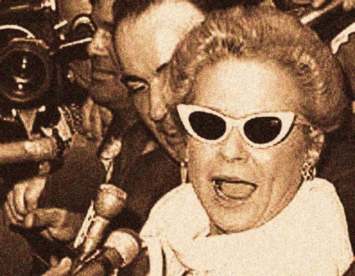 Martha Mitchell - alternately referred to as Crackpot and Cassandra.