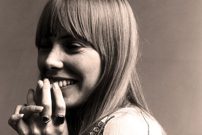 Joni Mitchell - even early on there was compelling magic.