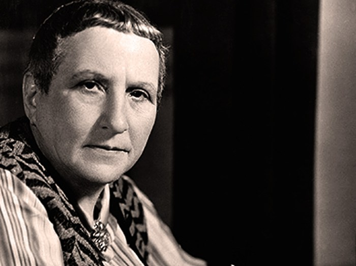 Gertrude Stein - icon of the lost generation.