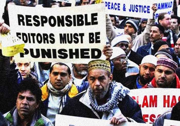 In 2006 there were riots over cartoon depictions of Muhammed.
