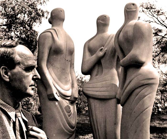 Henry Moore - widely regarded as one of the true modernists in 20th Century Sculpture.