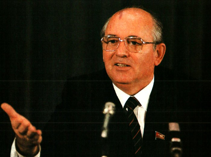 Soviet Premier Mikhail Gorbachev - even the rumors sounded hopeful.