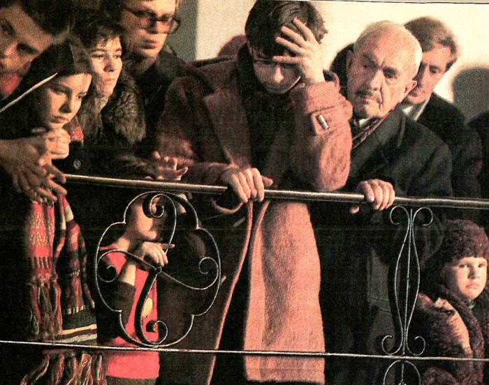 Crackdown in Poland - Dec. 22,1981
