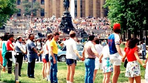 Hands Across America - May 25, 1986