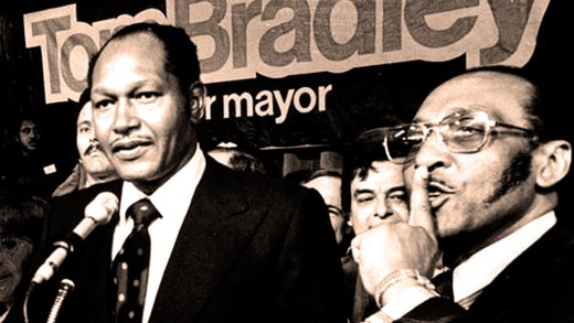 Mayor-elect Tom Bradley 1973