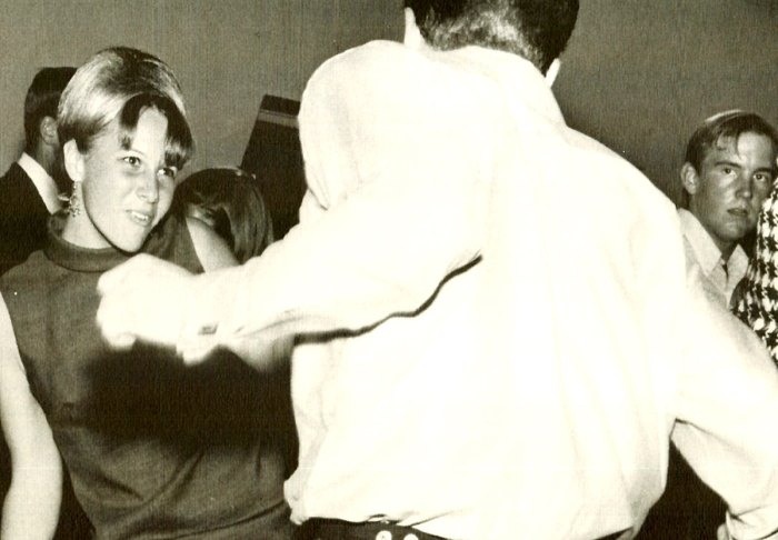 Teenagers dancing 1967