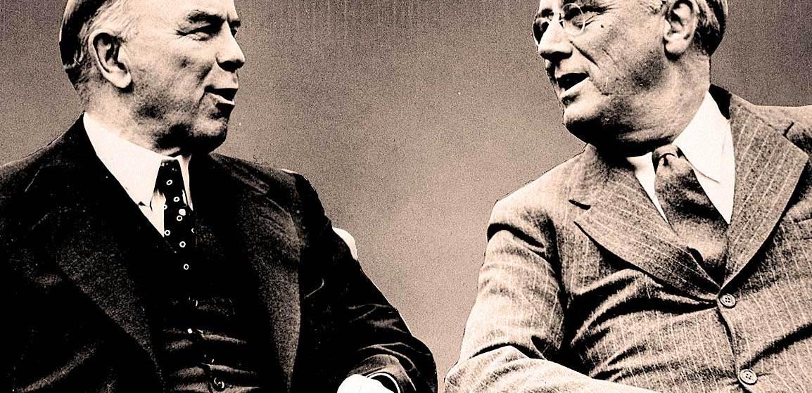 FDR and MacKenzie King - 1943