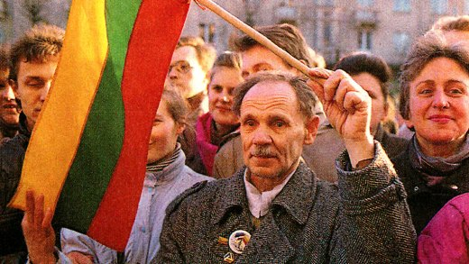 Lithuania Independence 1990