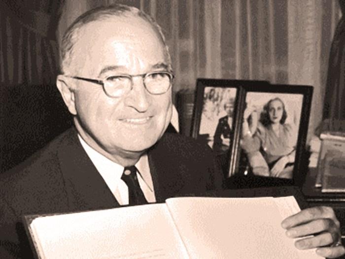 President Truman - April 4, 1949