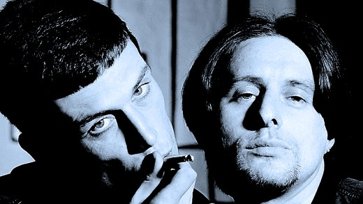 Bez and Shaun of Happy Mondays