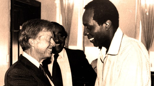 Jimmy Carter - Vernon Jordan - 1980
