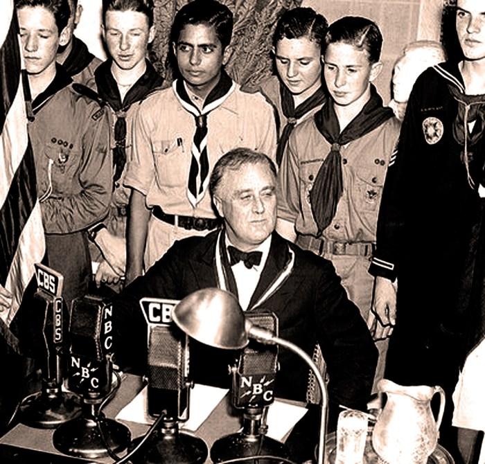 FDR Addresses Boy Scouts- 1937