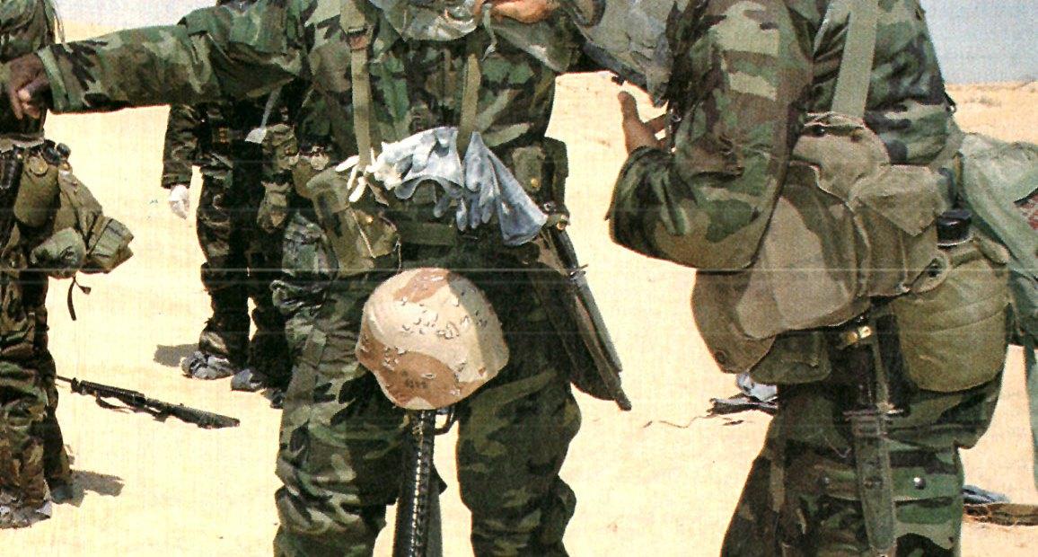 U.S. Troops in Saudi Arabia