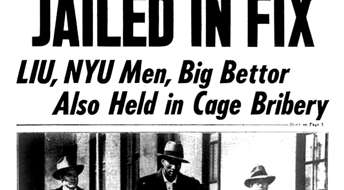 College Basketball Scandal - 1951