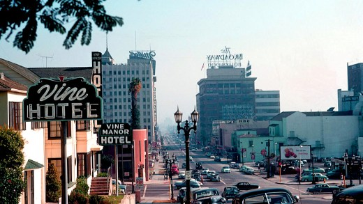Vine Street - Hollywood - 1953