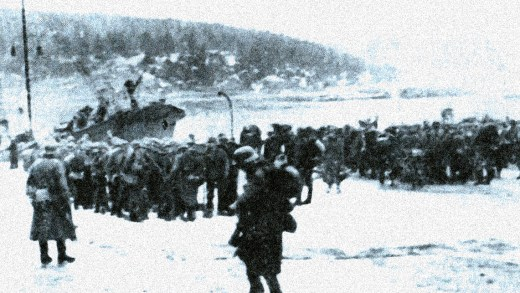 German Troops in Norway