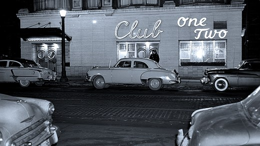 Toronto at night - 1954