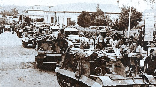 British Troops in Asmara