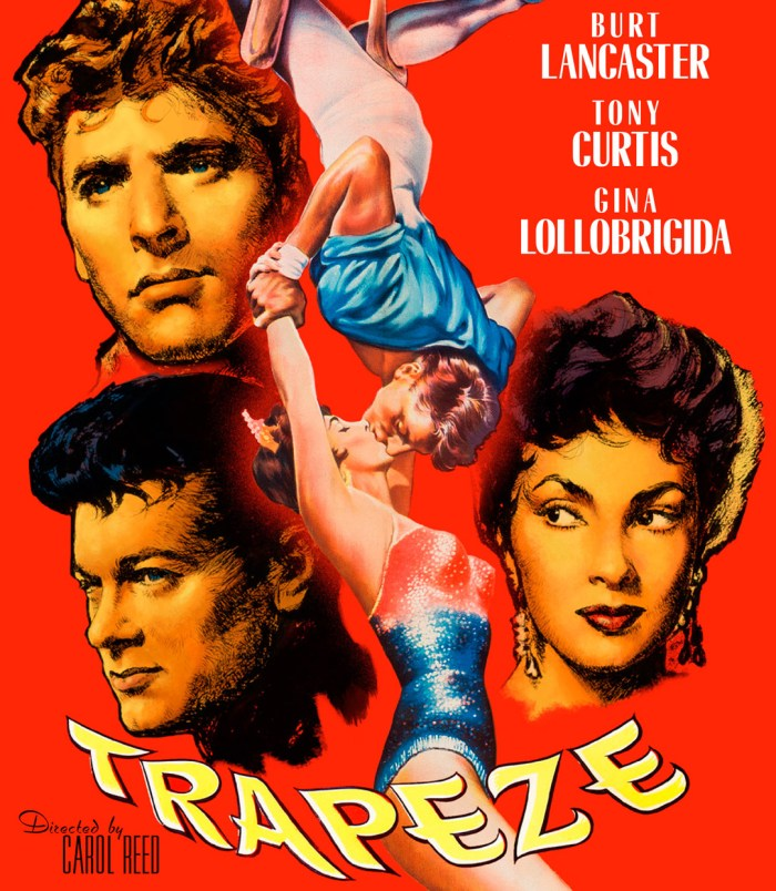 Trapeze - poster