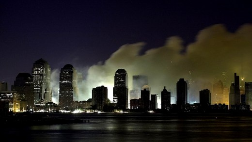 The night of September 11, 2001