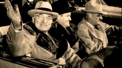 President Trumen (with Sen. Hubert Humphrey) - 1949