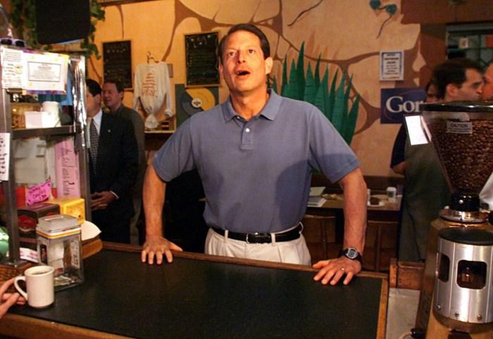 Al Gore - 2000 Iowa Caucuses