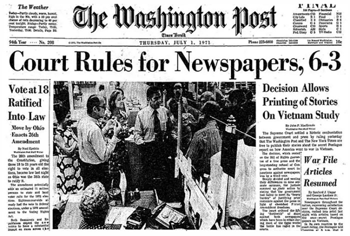 The Washington Post - July 1,1971
