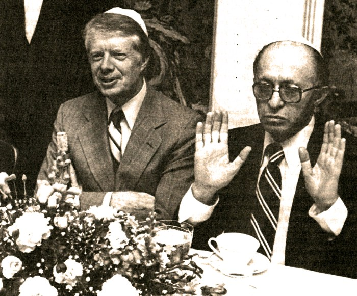 Jimmy Carter - Menachem Begin