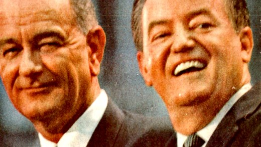 Lyndon Johnson - Hubert Humphrey - 1964