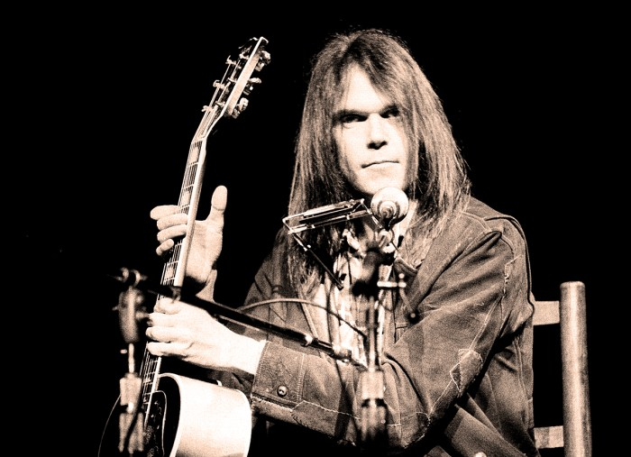 Neil Young - Songs For Judy - Photo: Getty Images