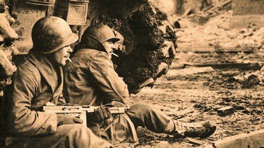 Allied Troops in Germany - December 1944