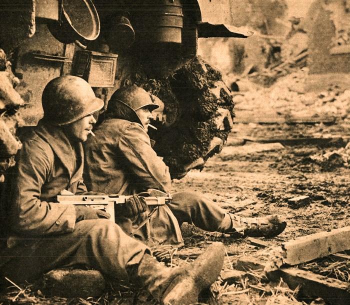 Allied Troops in Germany - December 1944