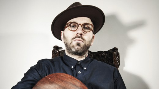 City And Colour - live at Splendour In The Grass - 2014 (photo: Dustin Rabin)