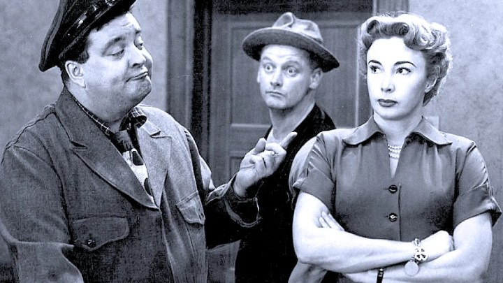 Gleason - Carney - Audrey Meadows - The Honeymooners